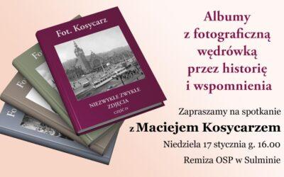 Spotkanie z Maciejem Kosycarzem. Sulmin 2010